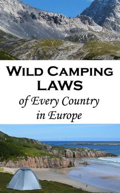 Wild camping laws of every country in Europe