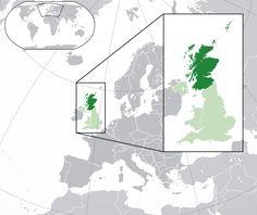 Scotland Locator