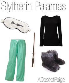 Slytherin Pajamas fashion