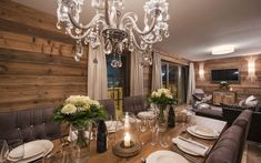 Chalet Zari is a luxury ski chalet in St Anton exclusively run by Kaluma Ski. An exclusive luxury ski apartment part of Chalet Eden Rock. Ski Chalet, St Anton, Eden Rock, Ski Lift, Ski Holidays, Bar Areas, Rustic Design, Dining Area, Skiing