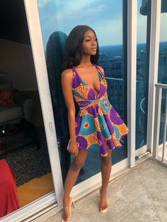 Do you like african print? African Print Dresses, African Fashion Dresses, African Wear, African Dress, Ankara Fashion, African Inspired Fashion, African Print Fashion, Fashion Mode, Fashion Outfits