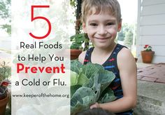 5 real foods to help you prevent a cold or flu