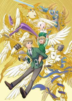 Digimon Artwork by eclosion