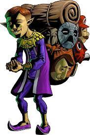 Le marchand de masques est un asiatique qui adore les masques.  Dans Majora's Mask, il confiera des masques à Link avec de grands pouvoirs et lui apprendra une mélodie. C'est à lui que Skull Kid a subtilisé le masque de Majora.
