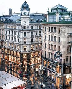 写真: Rainy night at Graben☔️Vienna,Austria Places Around The World, Oh The Places You'll Go, Places To Travel, Travel Destinations, Places To Visit, Around The Worlds, Travel Tips, Travel Photos, Holiday Destinations