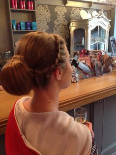 Hair up by Amy