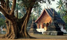 Santuario Wat Aham, Luang Prabang, Laos
