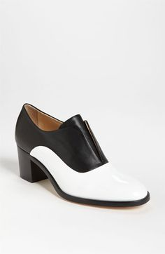 Still looking for a black and white oxford.  Maybe these?