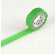 Masking Tape - Nastro Masking Tape Green Shop online on www.lesparigotes.com