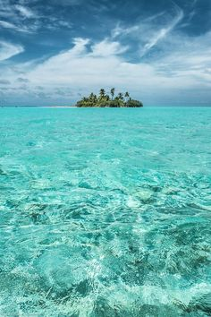An Island, Somewhere in the Maldives