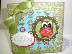 Cards, Stampin' Up, My Owl Cards