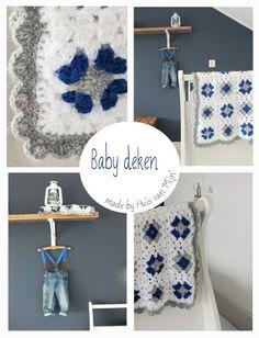 """Huis van """"Mijn"""": Baby deken gehaakt.."""