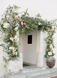 Traditionally elegant rosemary beach wedding, Gallery and inspiration White Wedding Flowers, White Flowers, Landscape Design, Garden Design, Rosemary Beach, Walled Garden, Floral Arch, Exterior Design, Outdoor Gardens