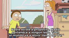 Cuando Morty dio el mejor pretexto para ver televisión.