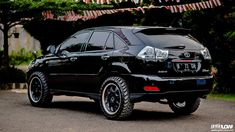lifted lexus rx Inspiration ideas on lifted trucks and SUV with off-road wheels and overland mods. DIY and easy to install exterior and interior upgrades. Lexus 4x4, Lexus Rx 350, Lexus Cars, Best Suv Cars, Toyota Harrier, Subaru Tribeca, Suv 4x4, Toyota Land Cruiser Prado, Off Road Wheels