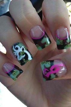 Browning nails so cute