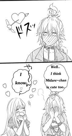 Touken Ranbu: Midare and Urashima