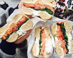 韓国女子が並んででも食べたい!梨大(イデ)で大人気のベーグル店「Queens Bagel」