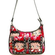 Cute Heart Betty Boop Purse