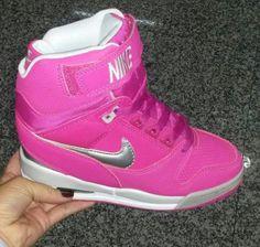 Zapatos Nike De Mujer Botines Rojos