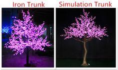 Garden Decoration Fake Trunk LED Tree Cherry Wedding Decoration, View led tree cherry, Toprex Product Details from Shenzhen Toprex Festival Decoration Co., Ltd. on Alibaba.com