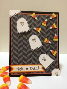 stamp. craft. pin.: More Cute Ghosts & Candy Corn