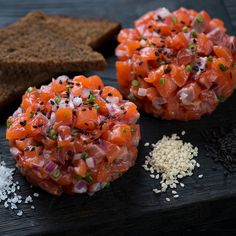 Tartare Recipe, Starchy Foods, Whole Grain Bread, Steak And Eggs, Evening Meals, Base Foods, Nutritious Meals, Bruschetta, Meal Planning