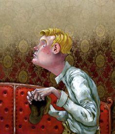 Roger Olmos, illustration from Sherlock Holmes.