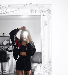 Tumblr Outfits, Edgy Outfits, Teen Fashion Outfits, Grunge Outfits, Cute Casual Outfits, Look Fashion, Girl Outfits, Cute Outfits For Parties, Edgy Teen Fashion