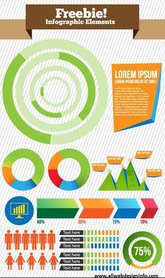 Free Vector Infographics Elements
