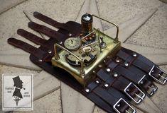 Steampunk Watch, Knife Block