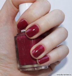 Essie Raisinnuts! My new color this week!