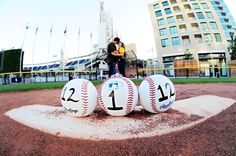 """A cute """"Save the Date"""" for baseball lovers 