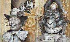 Sophie Wilkins' version of Alice. Love!