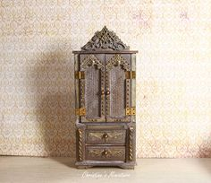 Hey, I found this really awesome Etsy listing at https://www.etsy.com/listing/557330588/miniature-cabinet-112-dollhouse