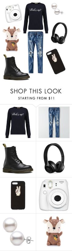 """Hello"" by amandakatherine12 ❤ liked on Polyvore featuring Chinti and Parker, American Eagle Outfitters, Dr. Martens, Beats by Dr. Dre, Nasty Gal and Fujifilm"