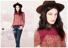 Sweater DAFNE /Florencia Llompart - Invierno 2013