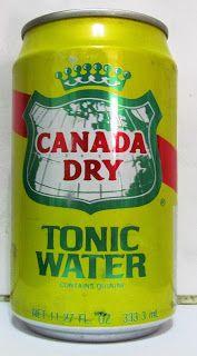 LATAS Y BOTELLAS COLECCIÓN: LATA CANADA DRY TONIC WATER 333.3 ML, ORIGEN PUERT...