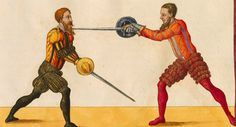 Image result for medieval woodcuts fencing fighting manual
