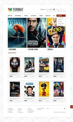 I want it! Who liked it?   Movie Store ZenCart Template view live demo  http://cattemplate.com/website-template/movie-store-zencart-template/
