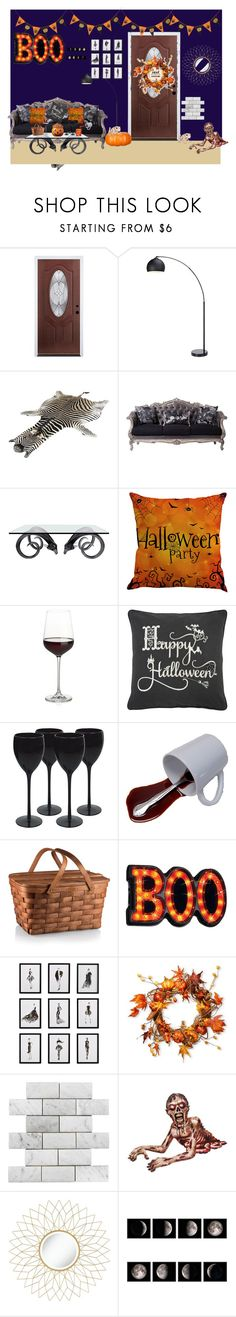 """""""Senza titolo #294"""" by eveline-xoxo ❤ liked on Polyvore featuring interior, interiors, interior design, home, home decor, interior decorating, Post-It, Jonathan Adler, Crate and Barrel and Rizzy Home"""