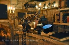 Pinner says..Our Room Of Requirement great site!! Diy harry potter party for adults, tutorials and fantastic props!