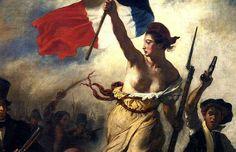 Don Surber: French PM hates the burkini Full Body Swimsuit, National Symbols, Marianne, The Bikini, Digital Marketing, Hate, French, Warrior Women, Painting