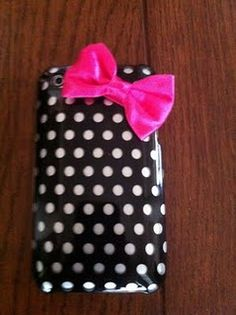 DIY girly phone case!