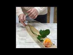 꽃다발포장법,한송이포장법 flower wrapping