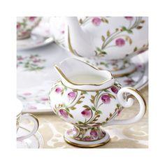 Limoges Porcelain Tea Set. #handpainted #tableware #teaset #embossed #gold #limoges #porcelain
