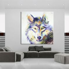 Cheap paintings indian, Buy Quality painting house spray gun directly from China painting designs of flowers Suppliers: Artist 100%Handmade Abstract Grey And Animals Wolf Oil Painting On Canvas Wolf Portrait Head Oil Painting Art hand-pai