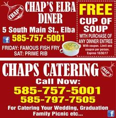 CHAPS ELBA Coupons