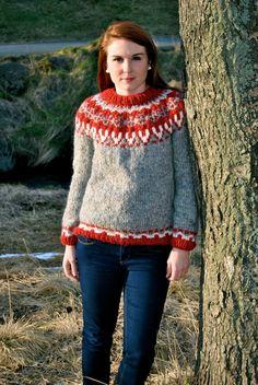Freyja isländische Pullover  handgefertigt von IcelandicKnitsbyAnna