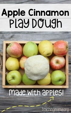 Apple Cinnamon Play Dough- Pin